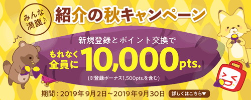 ECナビ 紹介秋のキャンペーン