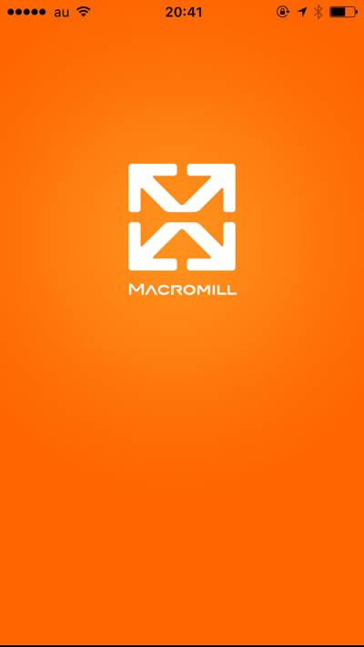 お小遣いアプリ「マクロミル」